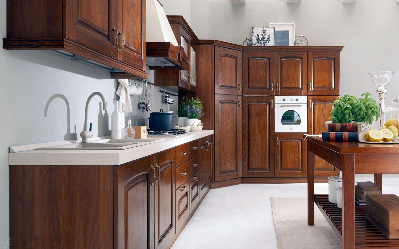 Cucine old style fuori salone doimo cucine with cucine for Harte arredamenti